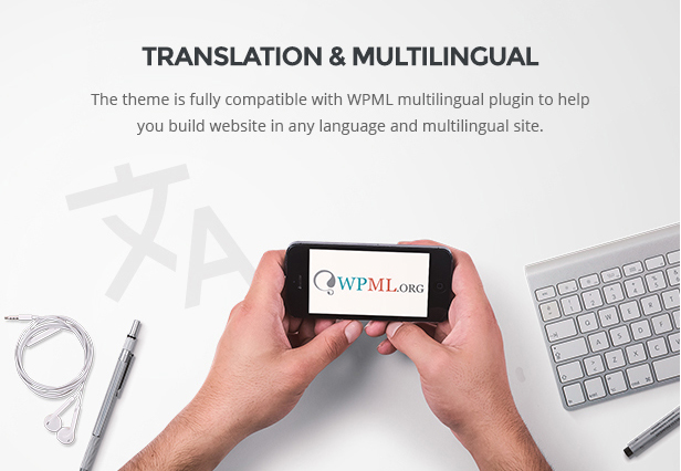 Responsive WooCommerce WordPress Theme Translation