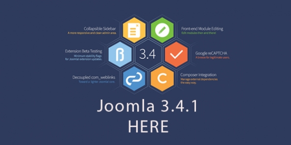 Joomla! 3.4.1 is out!