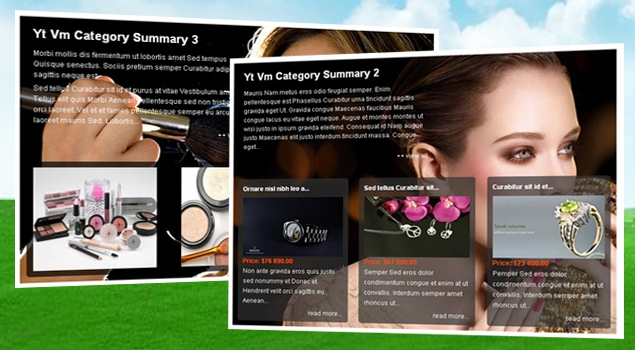 SJ VM Category Summary - Joomla! Module