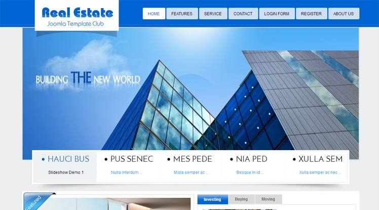 SJ Real Estate - Joomla Template