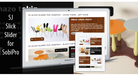 SJ Slick Slider for SobiPro - Responsive Joomla! Module