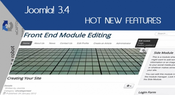 Joomla 3.4 - 7 Hot New Features
