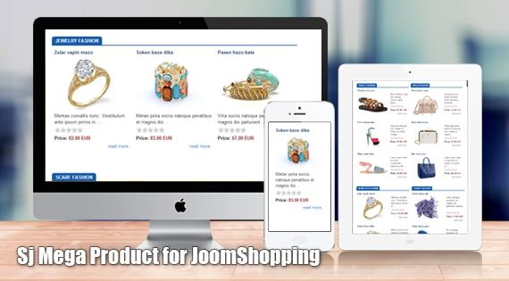 SJ Mega Product for JoomShopping - Joomla! Module