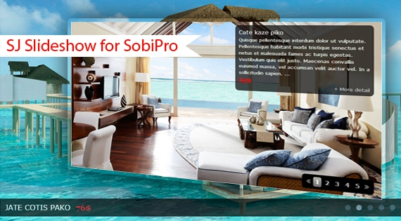 SJ Slideshow for SobiPro - Responsive Joomla! Module