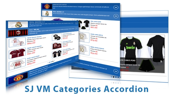 SJ VM Categories Accordion - Joomla! Module