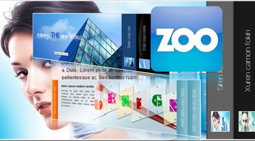 SJ Cool Accordion with Zoo - Joomla! Module