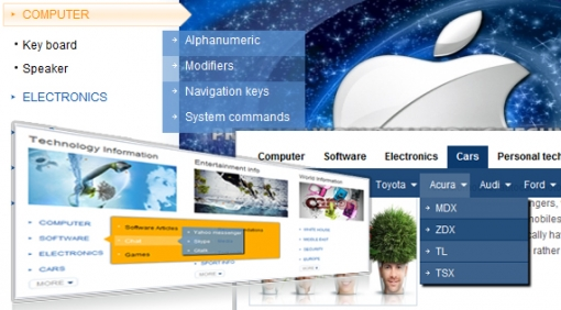 SJ Content Categories II - Joomla! Module