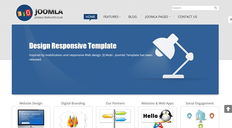 SJ Joomla3 - Free Template for Joomla! 3.0