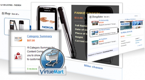 Sj VirtueMart Listing - Joomla! Module