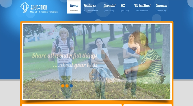 SJ Education - Joomla! Template