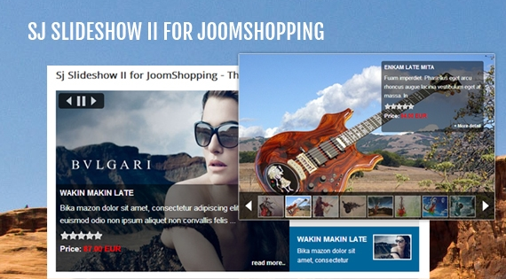 SJ Slideshow II for JoomShopping - Joomla! Module