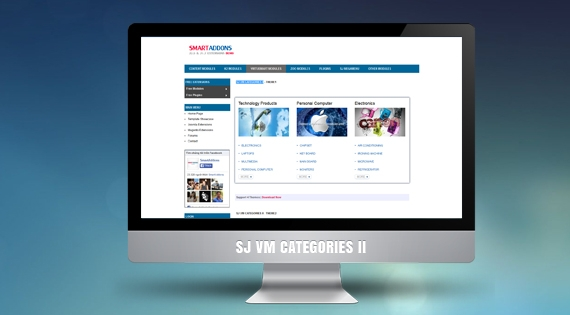 SJ VM Categories II - Joomla! Module