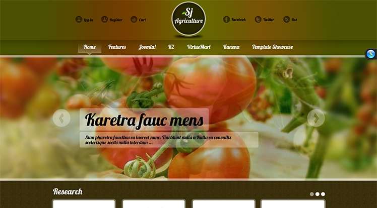 SJ Agriculture - Joomla! Template