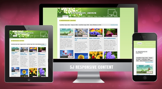 SJ Responsive Content - Joomla! Module