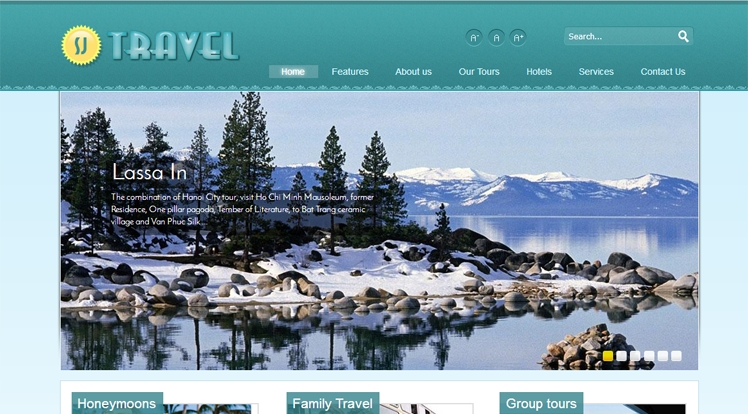 Yt Travel - Joomla Template