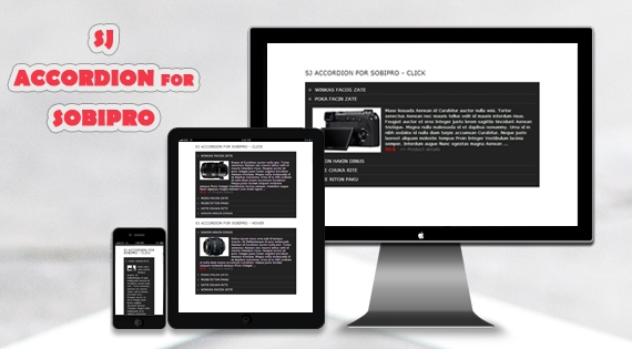 SJ Accordion for SobiPro - Responsive Joomla! Module