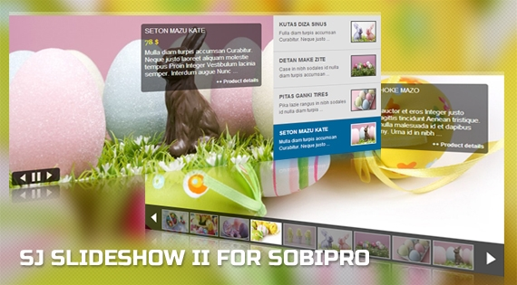 SJ Slideshow II for SobiPro - Joomla! Module