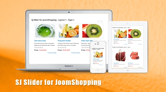 SJ Slider for JoomShopping - Joomla! Module