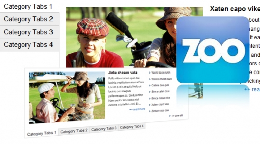 SJ Zoo Simple Tabs - Joomla! Module