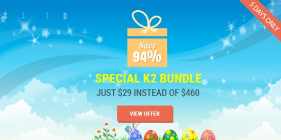 Special Easter Bundle: SJ Time & 29 Pro K2 Extension - Only $29