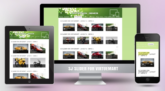 SJ VM Slider - Joomla! Module