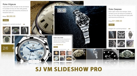 SJ VM Slideshow Pro - Joomla! Module