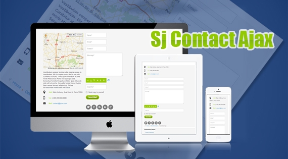 SJ Contact Ajax - Responsive Joomla! Module