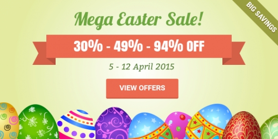 Fantastic Easter Week Sale! Save up to 94% OFF