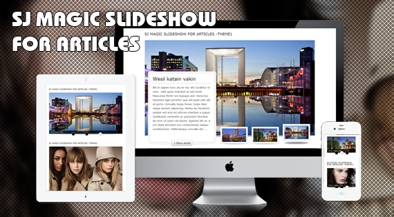 SJ Magic Slideshow for Articles - Responsive Joomla! Module