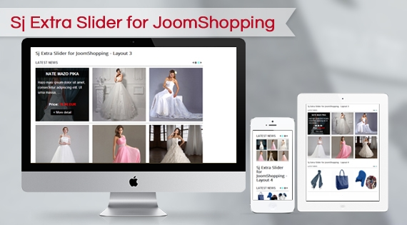 SJ Extra Slider for JoomShopping - Joomla! Module