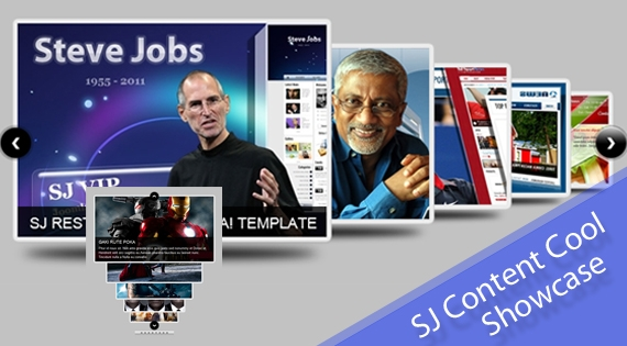 SJ Cool Showcase for Content - Joomla! Module