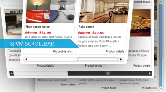 SJ Scrollbar for Virtuemart- Joomla! Module