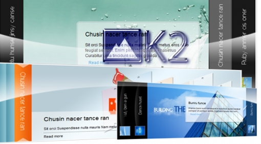 SJ Cool Accordion With K2 - Joomla! Module