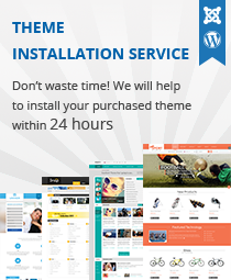 Joomla Template Installation