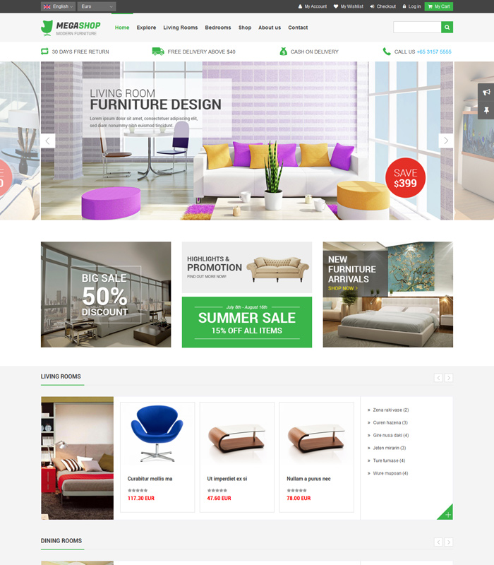 Top Joomla JoomShopping Templates for Online Stores 2020