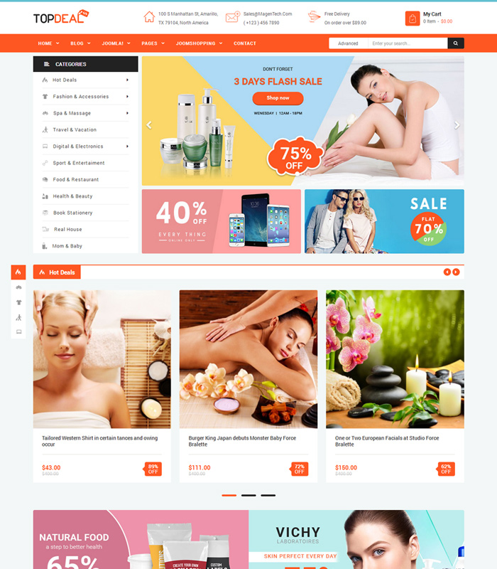 Top Joomla JoomShopping Templates for Online Stores 2020 title=
