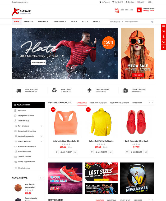 2021's Best OpenCart 3.0.3.7 Themes