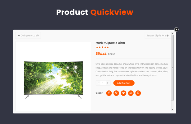 quickview revo - Revo - Multipurpose eCommerce VirtueMart 3 Joomla Template