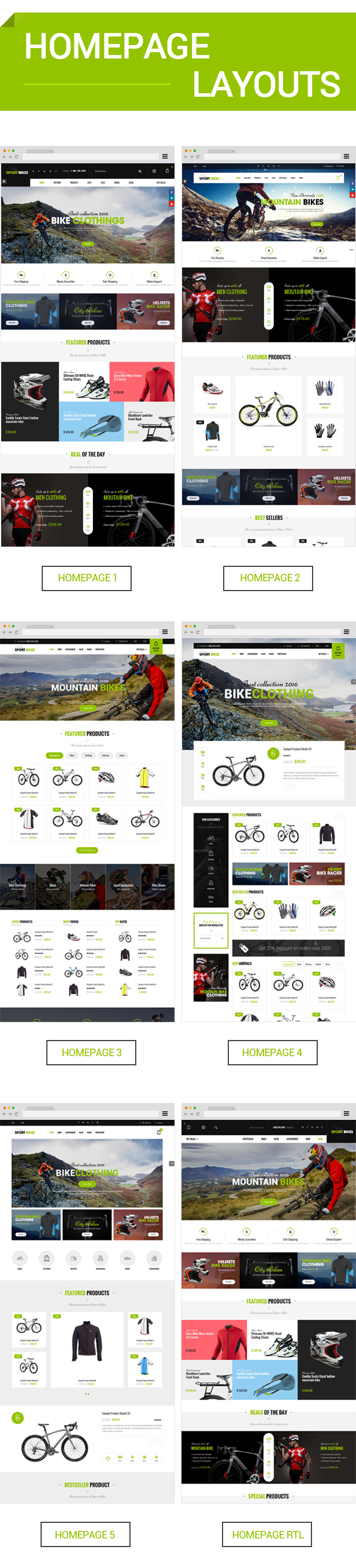 sports ecommerce wordpress theme