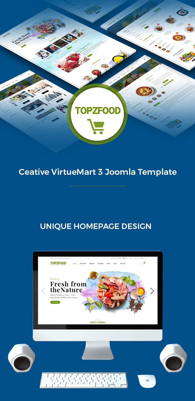Sj TopzFood - Delicious Food & Restaurant Joomla Template