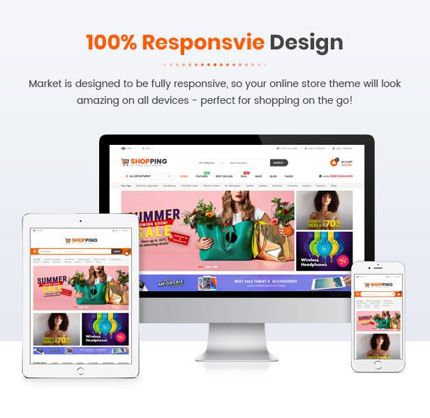 SM Shopping - responsive