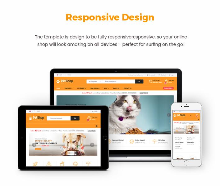 Sj PetShop - Responsive Pet Store Joomla Template
