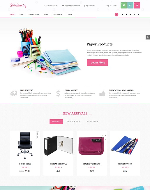 SW Stationery - Responsive WordPress Theme - 03_homepage2.jpg