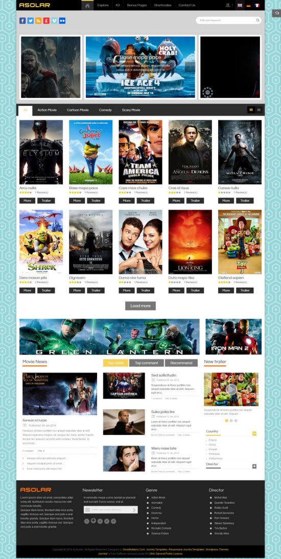 SJ Asolar - Responsive Joomla Movie Template - 05-yellow.jpg
