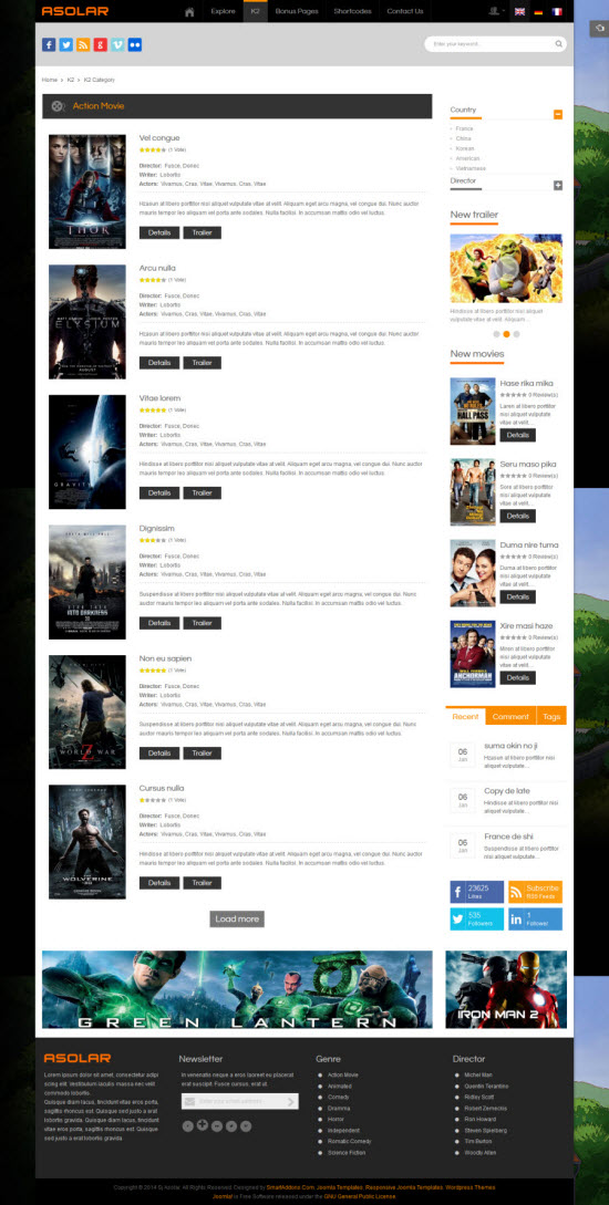 SJ Asolar - Responsive Joomla Movie Template - 07-k2-category.jpg