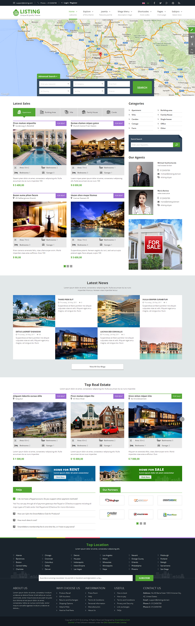 SJ eListing - Responsive Joomla Estate Template - 02_index-wide-layout.png