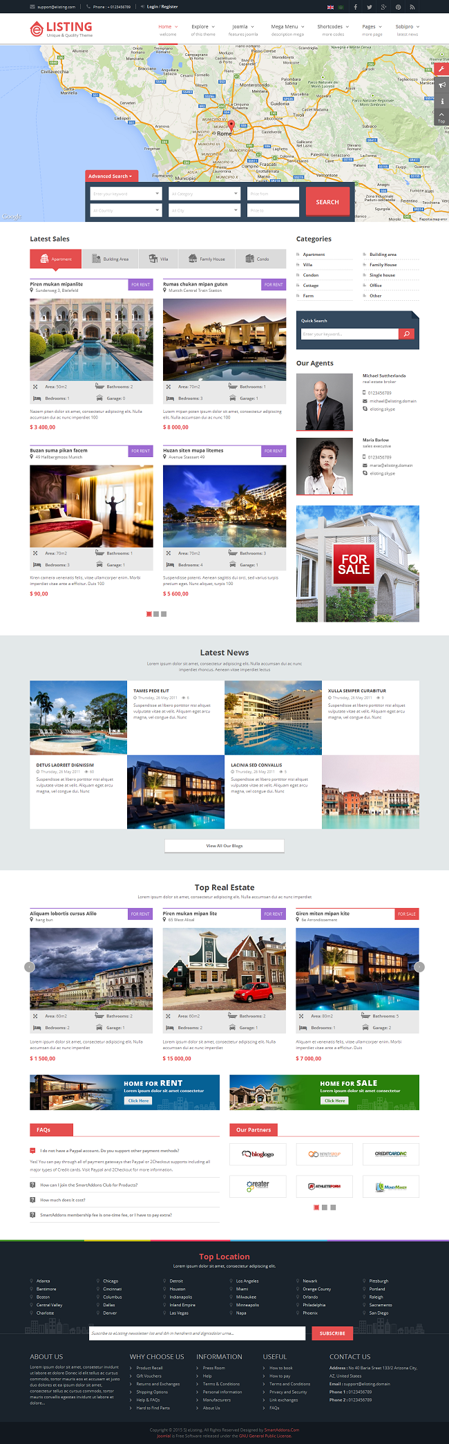 SJ eListing - Responsive Joomla Estate Template - 07_index-red.png