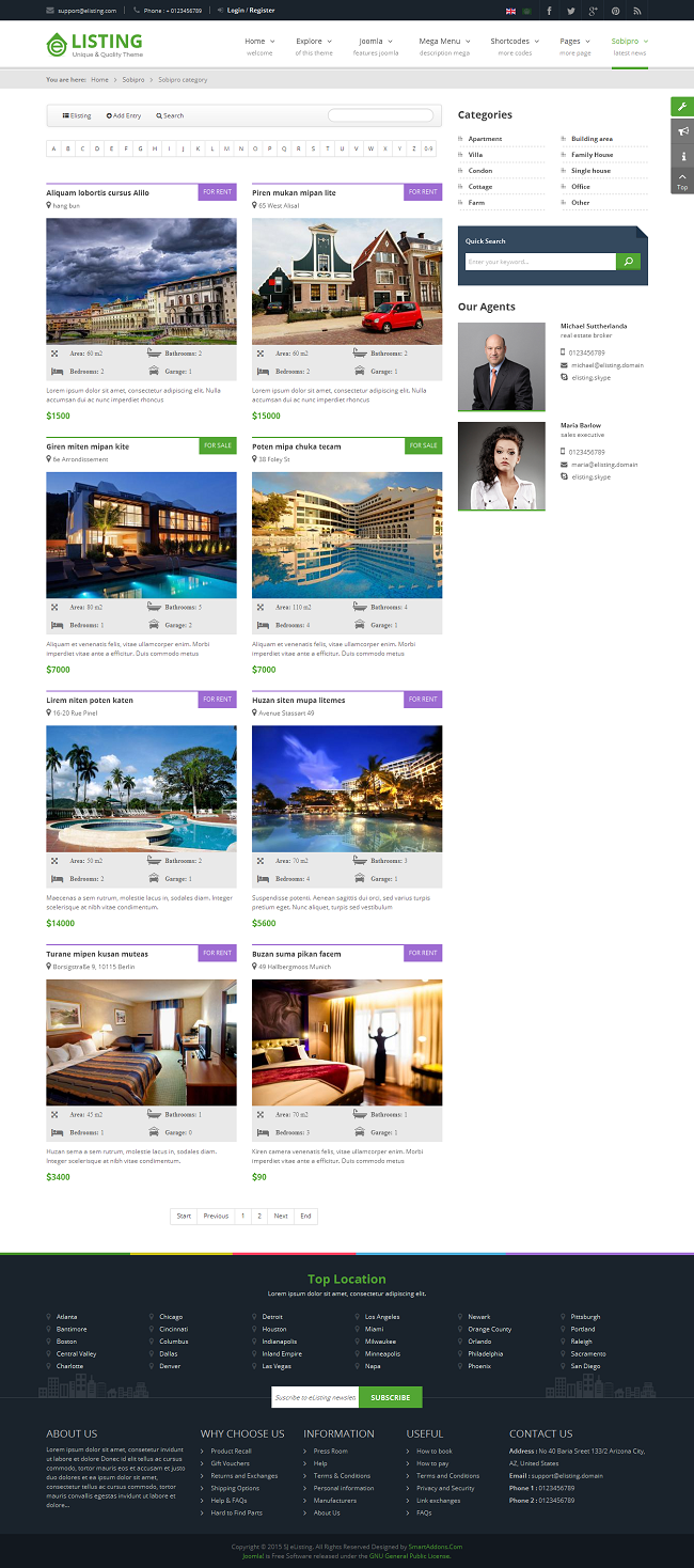 SJ eListing - Responsive Joomla Estate Template - 10_real-estate-listing.png