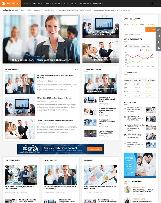 SJ Financial III - Responsive Business & Financial  Joomla Template - 01_index.jpg