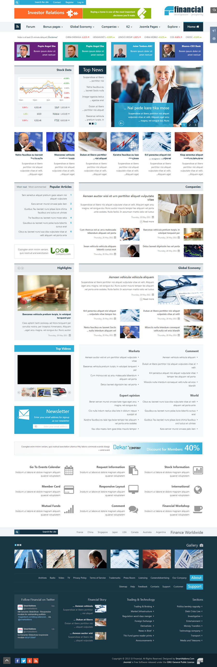 SJ Financial - Responsive Joomla Financial News Template - 03index-rtl.jpg